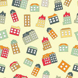 Home sweet home seamless pattern. Royalty Free Stock Image