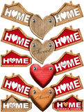 Home Sweet Home - Set of Labels Royalty Free Stock Image