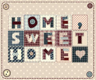 Home, sweet home Stock Image