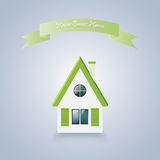 Home sweet home. Vector illustration Stock Photo