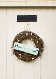 Home Sweet Home wreath Stock Photos