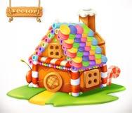 home sweet przygotowywa ikonę royalty ilustracja