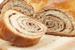 Home sweet rolls with cinnamon Royalty Free Stock Photos