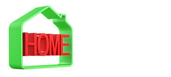Home symbol Stock Image