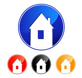Home symbol. isolated vector icon Stock Photography