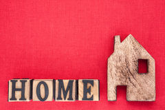 Home Symbol Letters Royalty Free Stock Images
