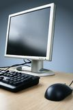 Home system on desk 3 Royalty Free Stock Image