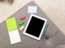 Home tablet still-lafe Royalty Free Stock Photography