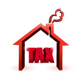 Home taxes illustration symbol. illustration Stock Photography