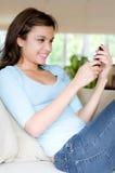 home telefon Fotografering för Bildbyråer