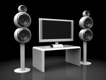 Home theater Royalty Free Stock Image