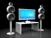 Home theater Stock Photography