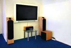 Home theater 2 Royalty Free Stock Photo