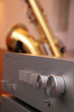 Home theater amplifier Royalty Free Stock Photos