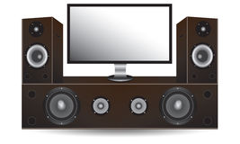The home theater Royalty Free Stock Image
