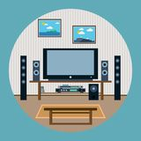 Home theater Royalty Free Stock Photo