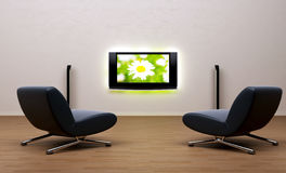 Home Theater In Room Stock Photography