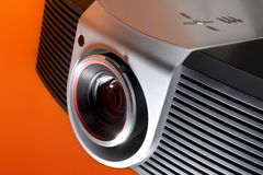 Home Theater Projector. A photo of home cinema projector stock photos