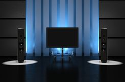 Home Theater Room Stock Photography