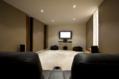 Home Theatre Royalty Free Stock Photos