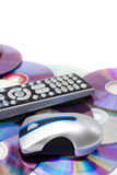 Home Theatre Montage Royalty Free Stock Photo