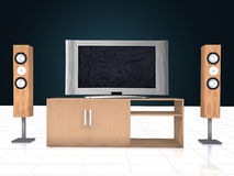 Home Theatre System Stock Photos