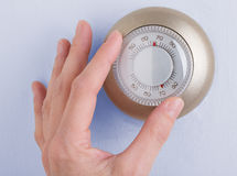 Home Thermostat Royalty Free Stock Image