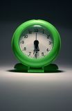 Home Time. Clock showing the end of the working day Royalty Free Stock Images