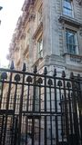 Gate to Downing Street in London, England. Royalty Free Stock Photography