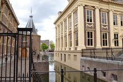 Museum Mauritshuis / Den Haag. Home to the very best of Dutch Golden Age painting, Mauritshuis museum Royalty Free Stock Photos