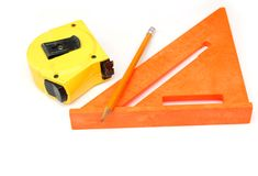 Home tool equipments. Collections in decoration Royalty Free Stock Photography