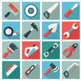 Home tool icons Royalty Free Stock Photos