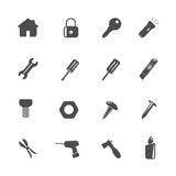 Home Tools Icons Royalty Free Stock Image
