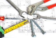 Home tools set Stock Image