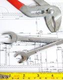 Home Tools Set Stock Photo