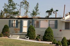 Home After Tornado Royalty Free Stock Images