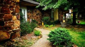 Home trädgård arkivfoto