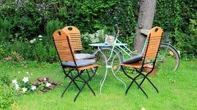 Home trädgård royaltyfri fotografi