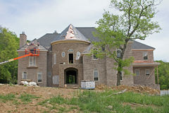 Home Under Construction Stock Image