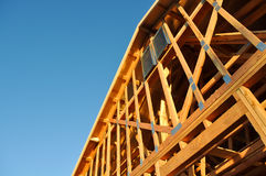 Home Under Construction Royalty Free Stock Images