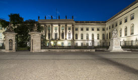 Home of the university humboldt berlin germany europe Stock Image