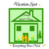 Home vacation Stock Photo