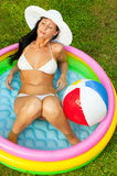 Home vacations Stock Images