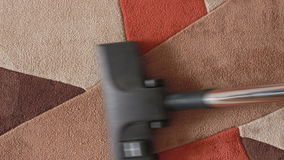 Home vacuum cleaner. Home cleaning with a vacuum cleaner stock video footage