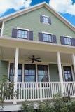 HOME verde do sonho do estilo do bacalhau de cabo Fotografia de Stock Royalty Free