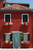 HOME vermelha Imagens de Stock