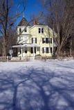 home victorian för land royaltyfri foto