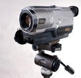 Home video camera Stock Photography