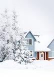 home vinter Arkivbild