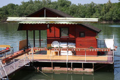 Home on the water Royalty Free Stock Photography